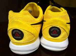 Reebok CrossFit Nano Yellow back