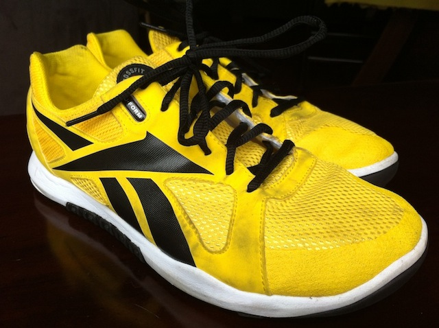 The Yellow Reebok CrossFit Nano