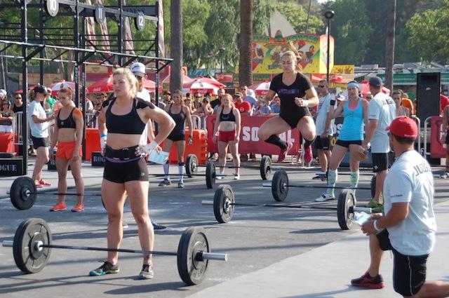 Katie Hogan Competing