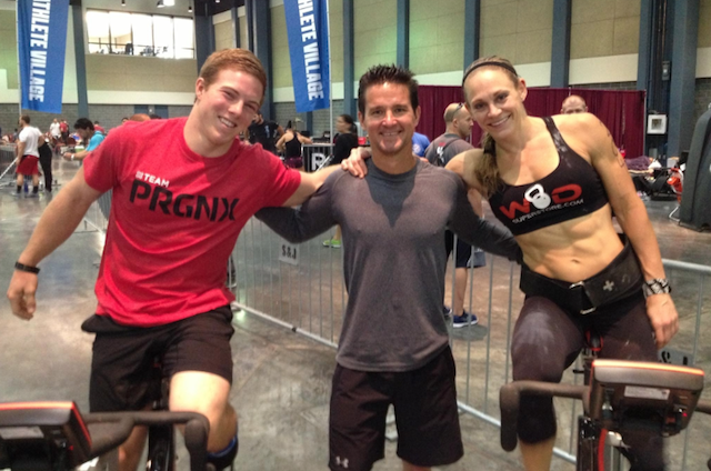 Noah Ohlsen, Doug Katona and Talayna Fortunato at the 2013 South East Regional