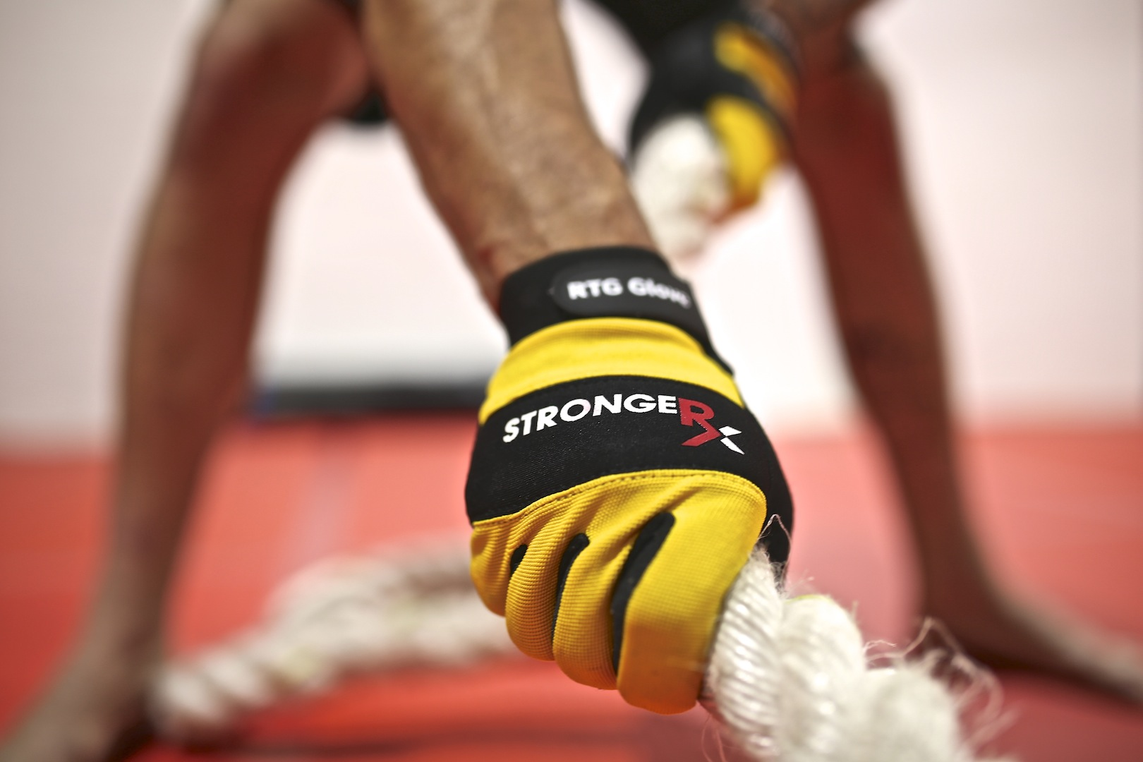 StrongerRx RTG Gloves Rope