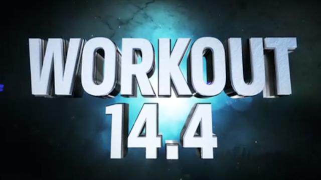 2014 CrossFit Open 14.4 Results