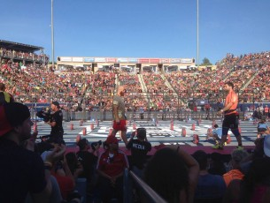Specators Experience at the 2014 CrossFit Games